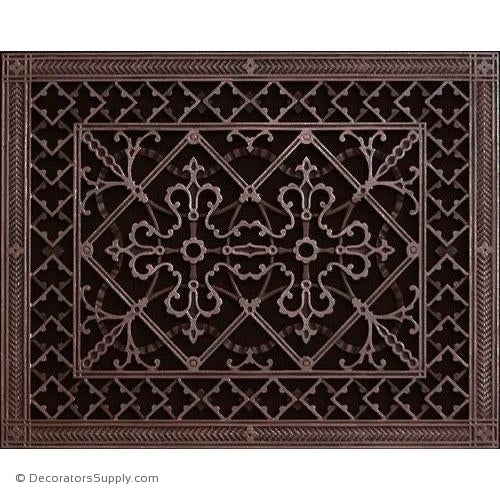 RESIN ARTES & CRAFTS GRILLE - 16X20 DUCT, 18 X 22 FRAME-BAI HVAC Grille-vent-cover-Decorators Supply