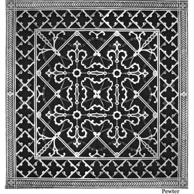 RESIN ARTES & CRAFTS GRILLE - 20X20DUCT, 22 X 22 FRAME-BAI HVAC Grille-vent-cover-Decorators Supply