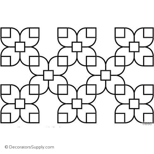 TRA210 Open Tracery Pattern-geometric-ceiling-designs-Decorators Supply