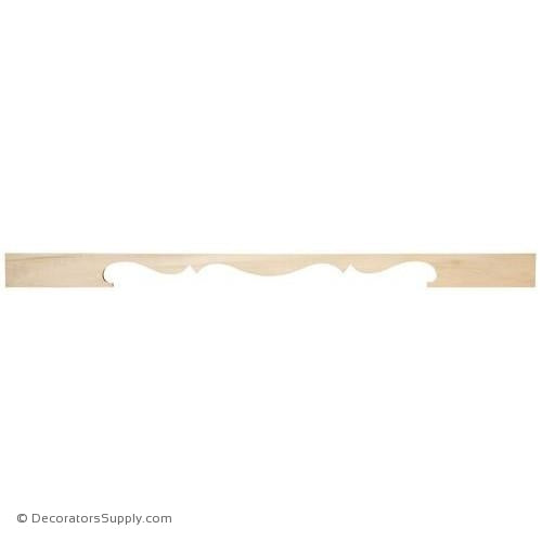 Large Wood Valance - (Cherry & Maple)