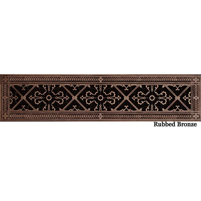 RESIN ARTES & CRAFTS GRILLE - 4 X 24 DUCT, 6 X 26 FRAME