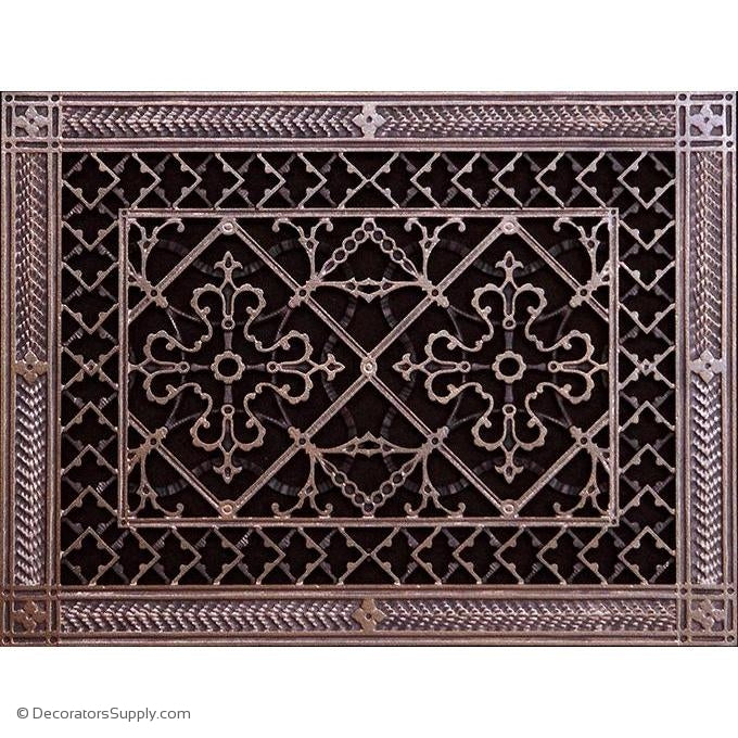 RESIN ARTES & CRAFTS GRILLE - 10X14 DUCT, 12 X 16 FRAME-BAI HVAC Grille-vent-cover-Decorators Supply