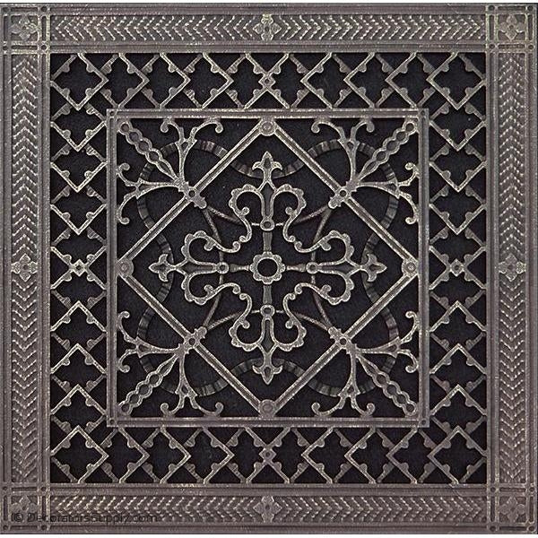 RESIN ARTES & CRAFTS GRILLE - 12X12 DUCT, 14 X 14 FRAME-BAI HVAC Grille-vent-cover-Decorators Supply