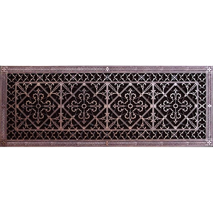 RESIN ARTES & CRAFTS GRILLE - 12 X 36 DUCT, 14 X 38 FRAME