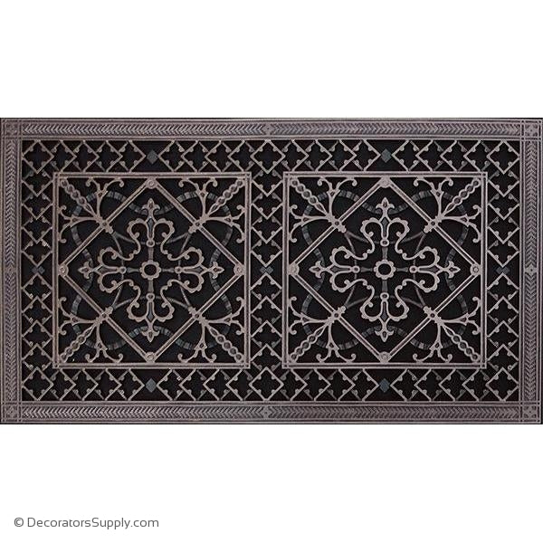 RESIN ARTES & CRAFTS GRILLE- 16X30DUCT, 18 X 32 FRAME-BAI HVAC Grille-vent-cover-Decorators Supply