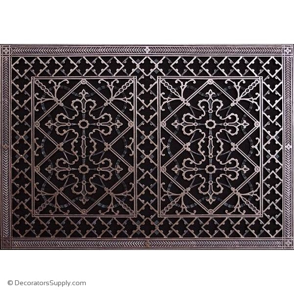 RESIN ARTES & CRAFTS GRILLE - 20X30DUCT, 22 X 32 FRAME-BAI HVAC Grille-vent-cover-Decorators Supply
