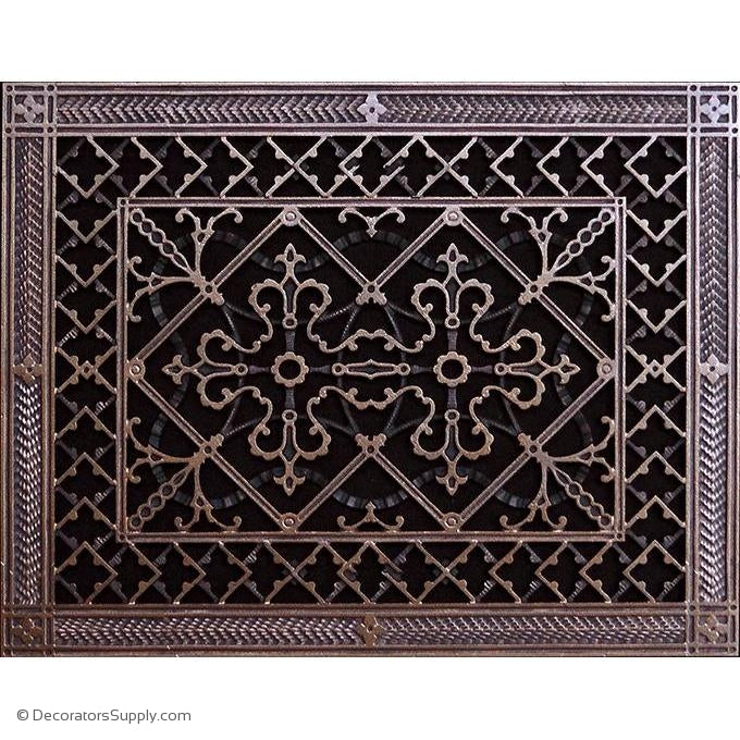 RESIN ARTES & CRAFTS GRILLE - 12X16 DUCT, 14 X 18 FRAME-BAI HVAC Grille-vent-cover-Decorators Supply