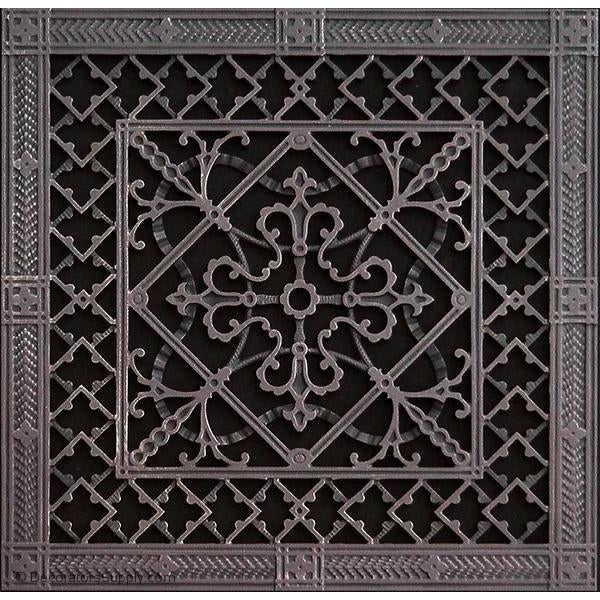 RESIN ARTES & CRAFTS GRILLE - 14X14 DUCT, 16 X 16 FRAME-BAI HVAC Grille-vent-cover-Decorators Supply