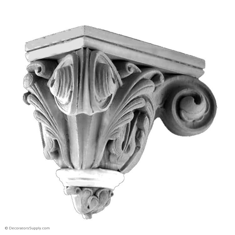 Plaster Corbel - Gothic Notre Dame-varied-sizes-Decorators Supply