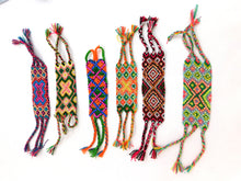 Load image into Gallery viewer, Hand woven and crystal friendship bracelets made in Colombia