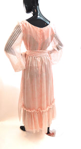 Vintage 1970s dress by Don Luis de Espana size 14