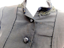 Load image into Gallery viewer, Vintage Authentic Antique Victorian waist coat steampunk jacket