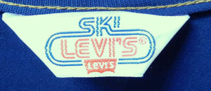 Vintage 1970s Levis Ski Women's High Waisted denim overalls size M