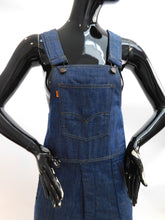 Load image into Gallery viewer, Vintage 1970s Levis Ski Women's High Waisted denim overalls size M