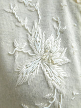 Load image into Gallery viewer, Vintage 1950s hand beaded angora cardigan