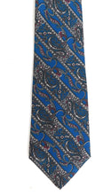 Load image into Gallery viewer, Vintage mens paisley printed tie by Christian Dior