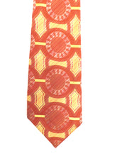 Load image into Gallery viewer, 1970s Psychedelic op art mens tie