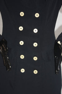 1990s Betsey Johnson double breasted blazer