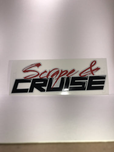 Scrape N Cruise Full Color Mini Sticker 8