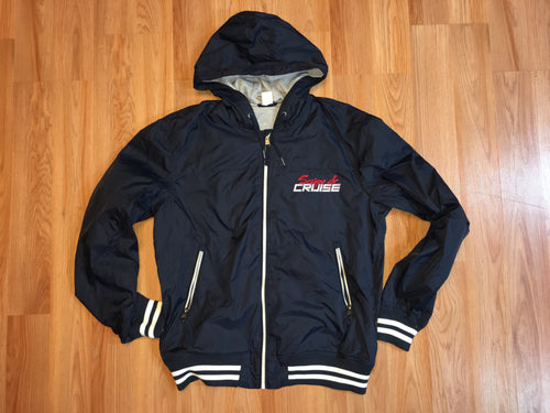Scrape N Cruise Navy Rain Jacket