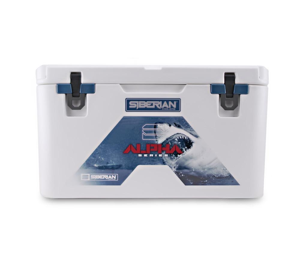 Siberian Coolers Alpha Series 65 Cooler w/ Basket, Cutting Board
