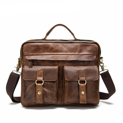 MM1 - Leather - Messenger - Men - Accessories