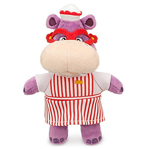 Disney Jr Doc McStuffins 8'' Hallie Hippo Bean Bag Plush Doll