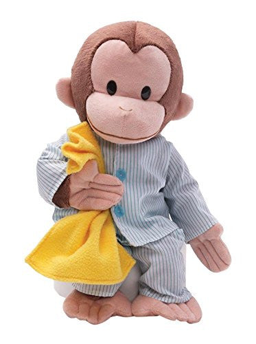 Gund Curious George Pajamas Stuffed Animal