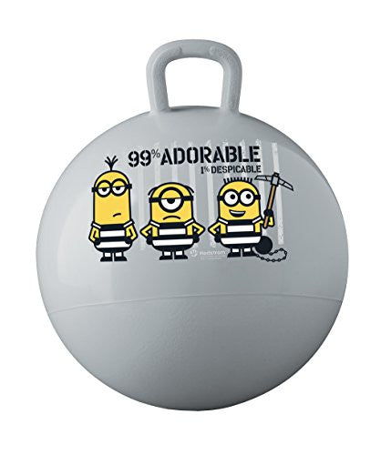 Hedstrom Universal Despicable Me 3 Hopper Ball Toy, Grey