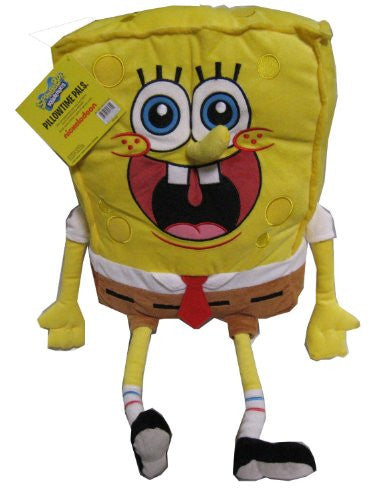 "Nickelodeon Spongebob Squarepants Cuddle Pillow - 23"" Pillowtime Pal"