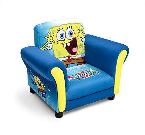 Delta Children Upholstered Chair, Nickelodeon SpongeBob