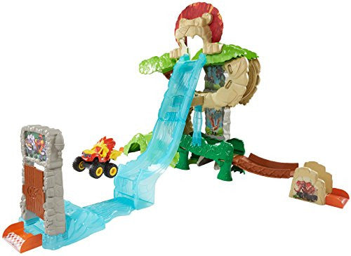 Fisher-Price Nickelodeon Blaze & The Monster Machine Animal Island Playset Vehicle