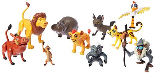 Just Play 77110 Lion Guard Pride Lands Deluxe Figure Set