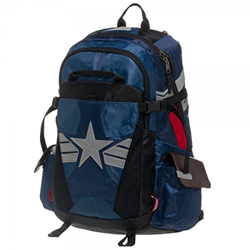 Captain America Suit Up Better Built Backpack