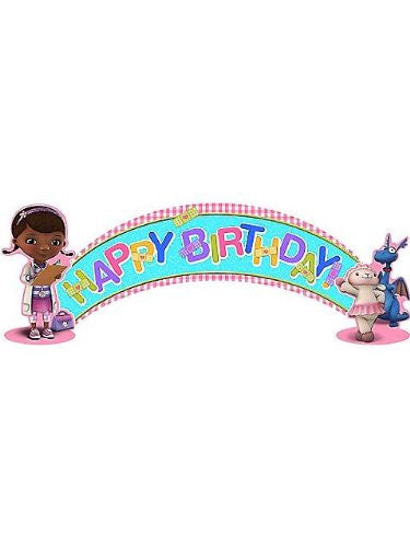Doc McStuffins Birthday Banner (5ft)