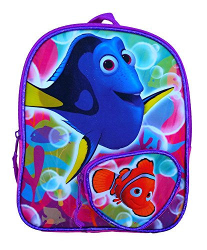 Disney Toddler Preschool Backpack 10 inch Mini Backpack (Finding Nemo Dory)