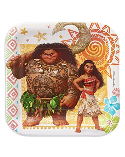 "American Greetings Moana 7"" Square Plate"