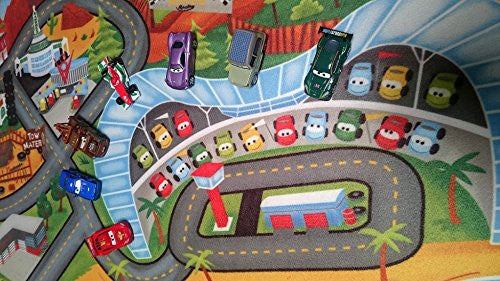 Fresh Disney Cars Toys Rug 2017 HD Edition Cars 3 Kids Game Rugs Throw  XY97