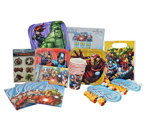 Marvel Avengers Birthday Party Supplies Pack.