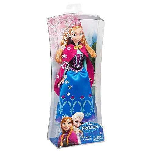 Disney Frozen Sparkle Anna of Arendelle Doll