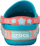crocs CrocsLights Moana Clog (Toddler/Little Kid), Multi, 1 M US Little Kid