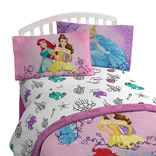 Disney Princess 'Friendship Adventures' 4 Piece Twin Bed In A Bag