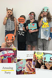 Pokemon Party Supplies - Photo Booth Props Suitable for Birthday Theme Party Great Party Ideas - Must Have for Pokemon Fans