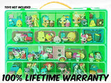 Shopkins Compatible Organizer-My Shoppin Bin Is The Perfect Shopkins Compatible Storage Box-Fits Up To 200 Shopkins Characters & 50 Shopping Bags or Baskets-Sturdy Case And Carrying Handle
