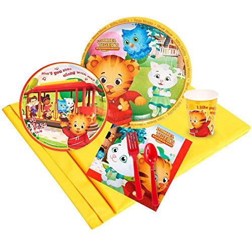 Daniel Tiger Party Supplies - Party Pack for 8