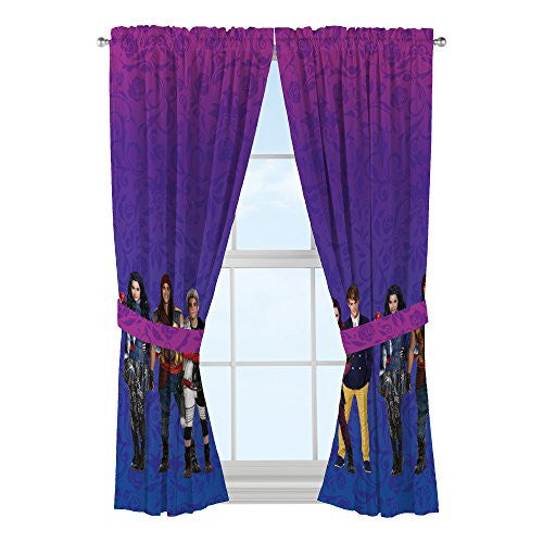 Disney MU5798 Descendants Auradon Damask Drapes