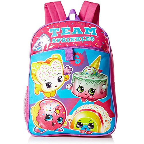 9a86e0824db ... Shopkins Girls  5 Pc Backpack Set