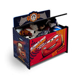 Delta Children Deluxe Toy Box, Disney/Pixar Cars