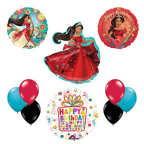 Princess Elena Of Avalor Birthday Party Balloon Kit Decorating Supplies