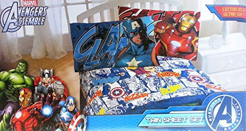 Marvel Avengers 2 Twin Sheet Set
